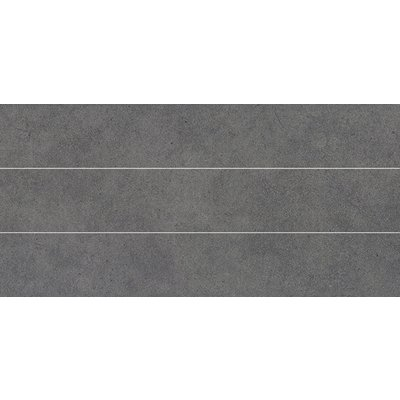Cerev Montecarlo Decor-strip 19.7x39.7cm 8.9mm Grafite Mat