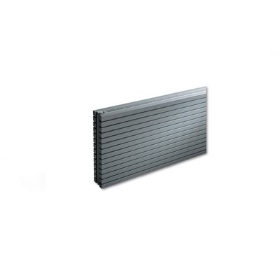 VASCO CARRE Radiator (decor) H59.5xD8.5xL100cm 1276W Staal Aluminium Grey January