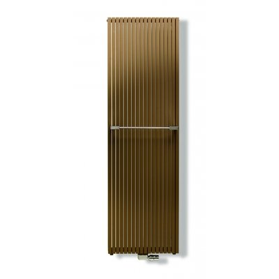 VASCO CARRE Radiator (decor) H200xD8.6xL65.5cm 2451W Staal Jet Black