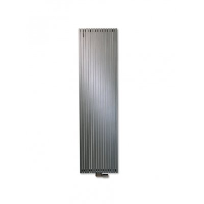 VASCO CARRE Radiator (decor) H160xD8.5xL53.5cm 1912W Staal Aluminium Grey January