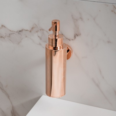 Hotbath Cobber zeepdispenser rose goud