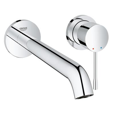 Grohe Essence New Mitigeur lavabo encastrable 2 trous L size avec bec 23cm chrome