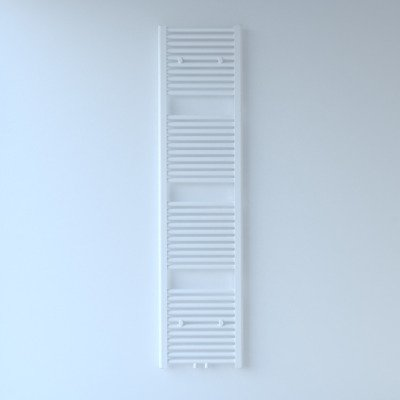 Throne Bathrooms Exclusive line 2.0 radiator 40x180cm 696watt recht middenaansluiting wit
