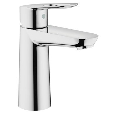 Grohe Start Loop 1-gats wastafelkraan M-size m. push open chroom
