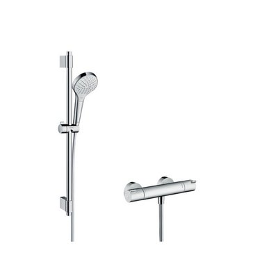 Hansgrohe Croma select s croma select douchetset 72cm incl.thermost. chroom