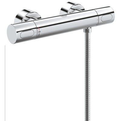 Grohe Grohtherm 3000 cosmo douchethermostaat chroom SHOWROOMMODEL