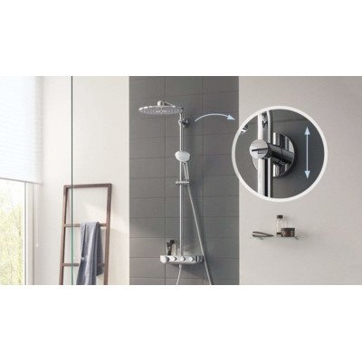 Grohe Euphoria smartcontrol 310 douchesysteem duo vierkant chroom