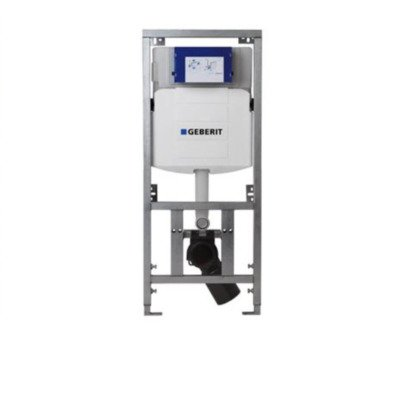 Geberit UP320 inbouwreservoir frontbediening dual flush en isolatiemat