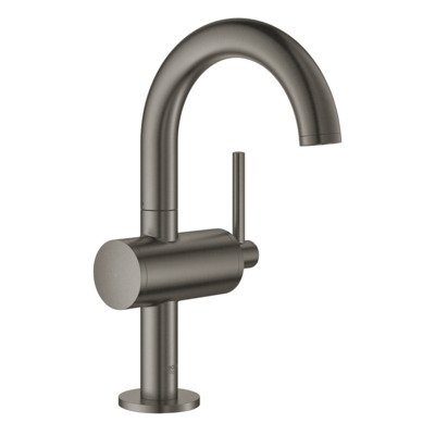 Grohe Atrio 1-gats wastafelkraan M-size m. push open brushed hard graphite