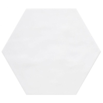 Cifre Cerámica Wandtegel hexagon Vodevil White 17,5x17,5 cm Vintage Glans Wit