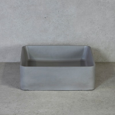 Throne Bathrooms Waskom Arc beton vierkant 36x36x12cm
