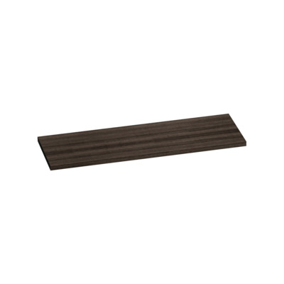 Saniclass TopPlate Plan vasque 141x46cm rectangulaire MFC Legno Anthracite