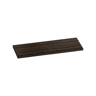 Saniclass TopPlate Plan vasque 121x46cm rectangulaire MFC Legno Anthracite