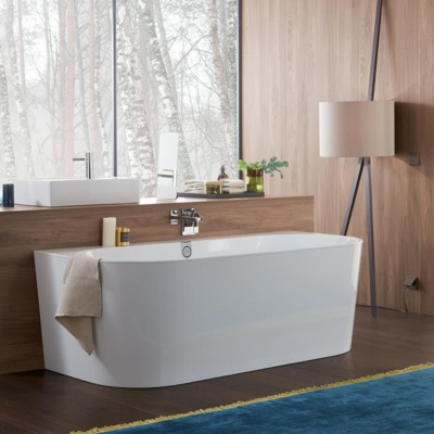 Villeroy & boch Collaro bad back-to-wall 180x80cm gold white