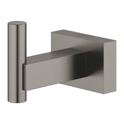 Grohe Essentials Cube haak brushed hard graphite