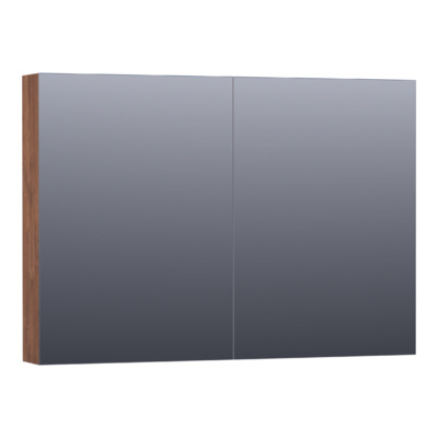 Saniclass Plain Spiegelkast 99x70x15cm Viking Shield