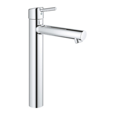 Grohe Concetto 1-gats wastafelkraan xl-size m. gladde body chroom
