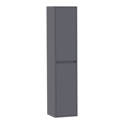 Saniclass New Future Armoire colonne 35x160x35cm gris