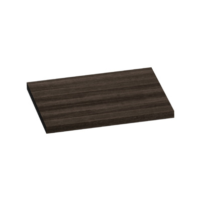 Saniclass TopPlate Plan vasque 61x46cm rectangulaire MFC Legno Anthracite