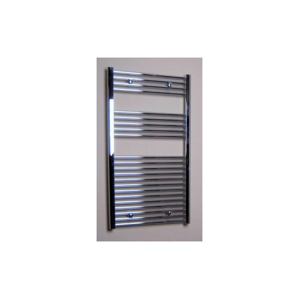 Sanicare Radiateur design droit 111.8x60cm 533watt chrome SW381