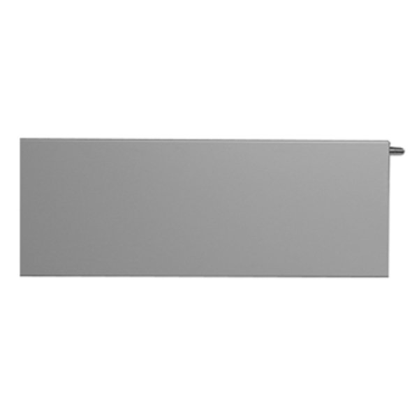 Vasco Niva NH1L1 designradiator enkel 1220x550mm 836 watt wit structuur 11193122005500098060