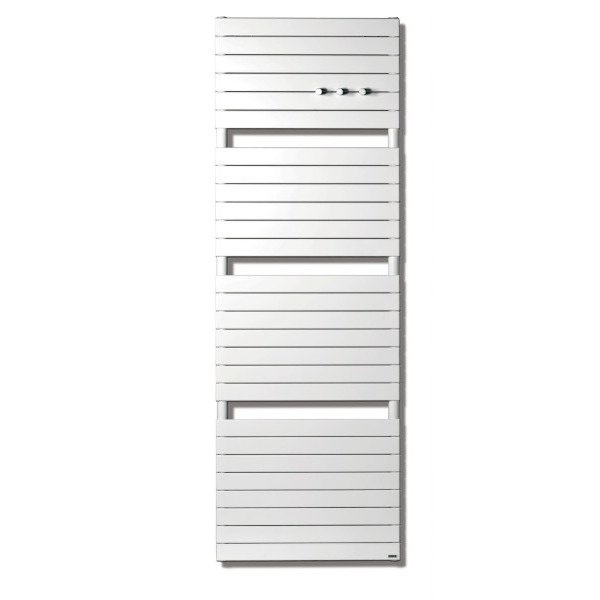 Vasco Aster HF2 designradiator horizontaal 600x1810mm 1440W aansluiting 0018 antraciet (M301) 7243064