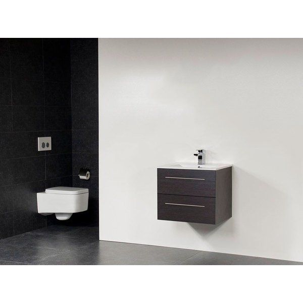 Saniclass Exclusive Line Kera meuble 80cm Black Wood SW10260