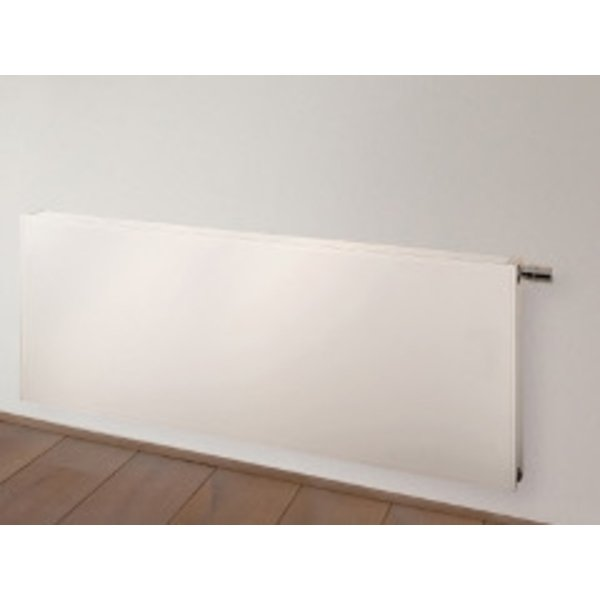 Vasco Flatline paneelradiator vlak type 22 400x1200mm 1388W wit structuur (S600) 7243598