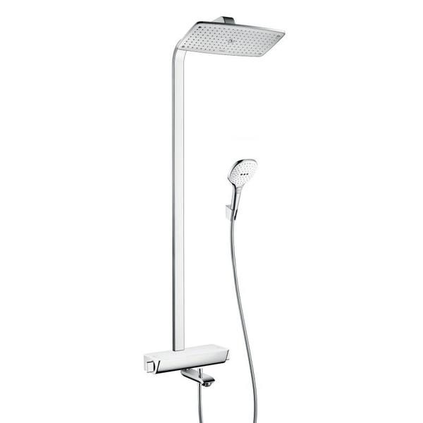Hansgrohe Raindance Select Air 360 showerpipe met badkraan wit/chroom 27113400