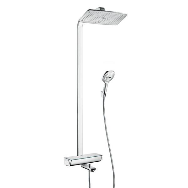 Hansgrohe Raindance Select Air 360 showerpipe met badkraan chroom 27113000