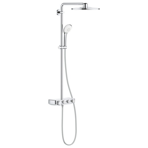Grohe Euphoria smartcontrol 310 douchesysteem duo rond chroom SW209454