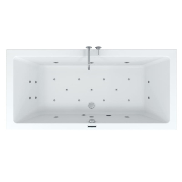 Riho Easypool 3.0 Lusso rechts 180x80 hydro 6+4+2 aero 11 coulour speaker touch bediening inclusief
