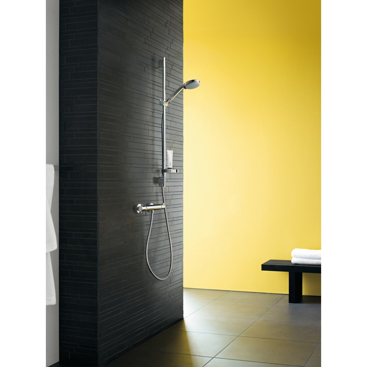 hansgrohe ecostat comfort mitigeur thermostatique douche chrom 13116000. Black Bedroom Furniture Sets. Home Design Ideas