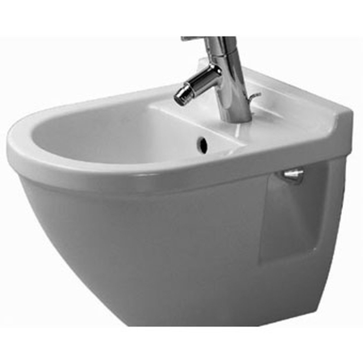 duravit starck 3 wandbidet compact met wondergliss wit. Black Bedroom Furniture Sets. Home Design Ideas