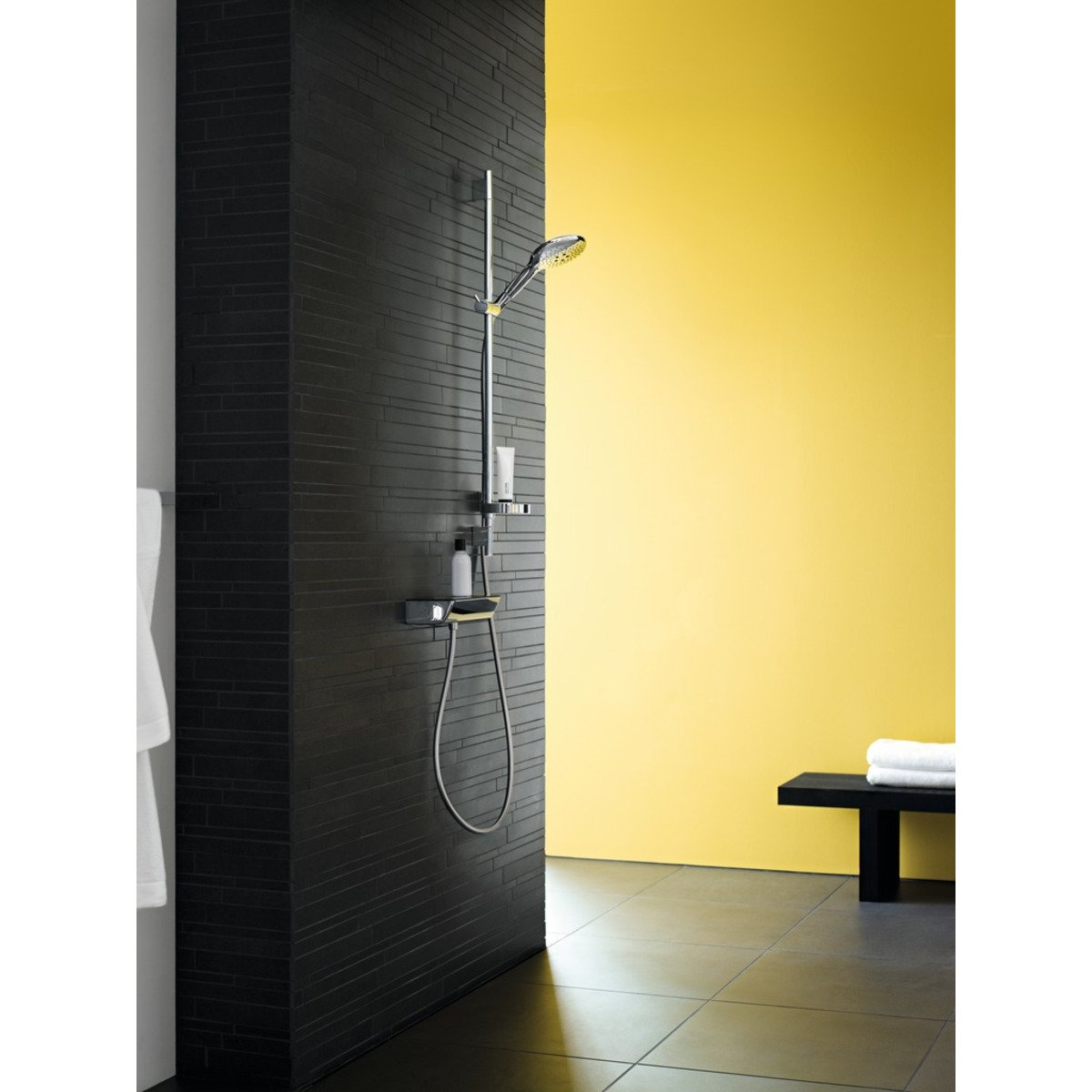 hansgrohe ecostat select mitigeur thermostatique douche chrom 13161000. Black Bedroom Furniture Sets. Home Design Ideas