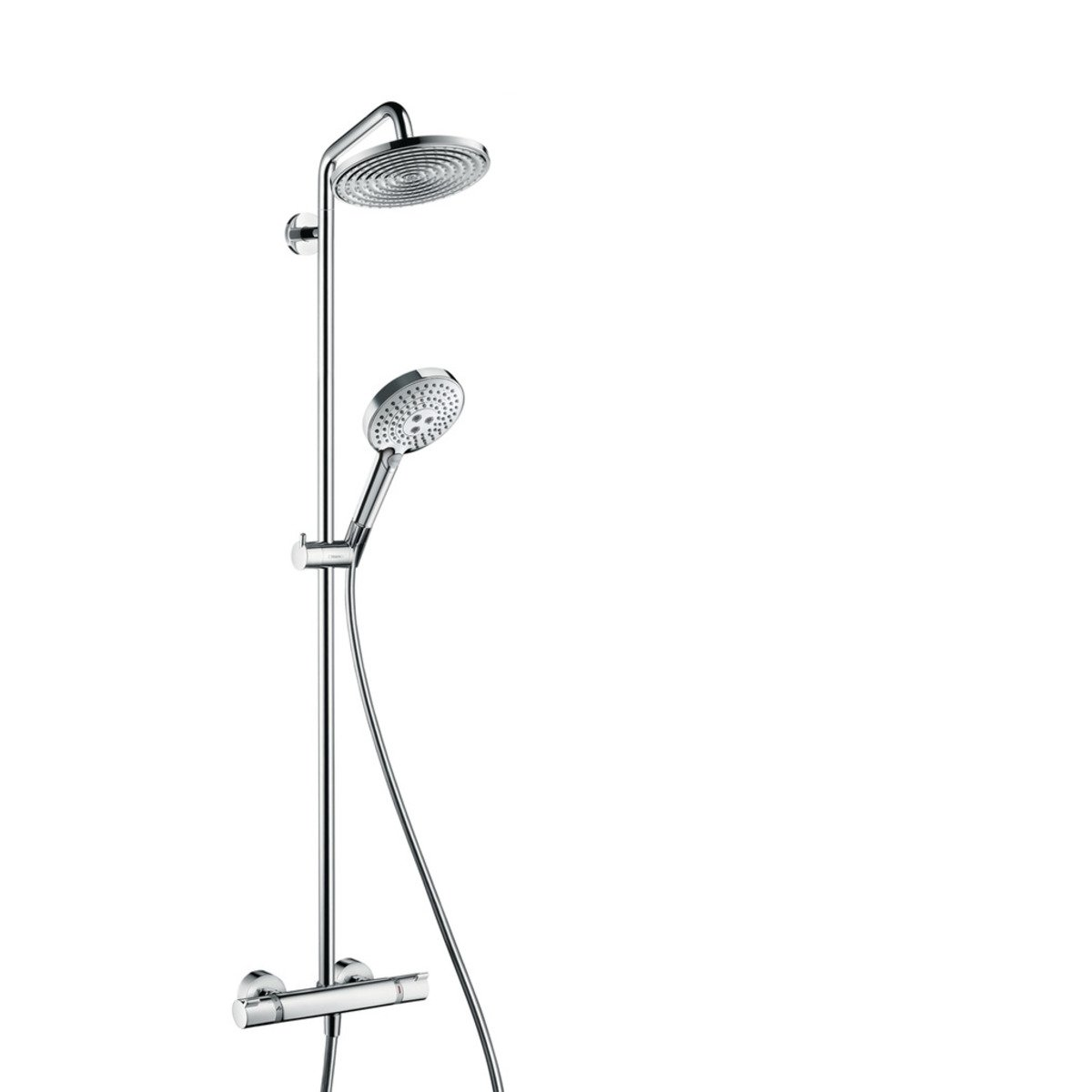hansgrohe showerpipe raindance select s 240 1jet chrom 27115000. Black Bedroom Furniture Sets. Home Design Ideas