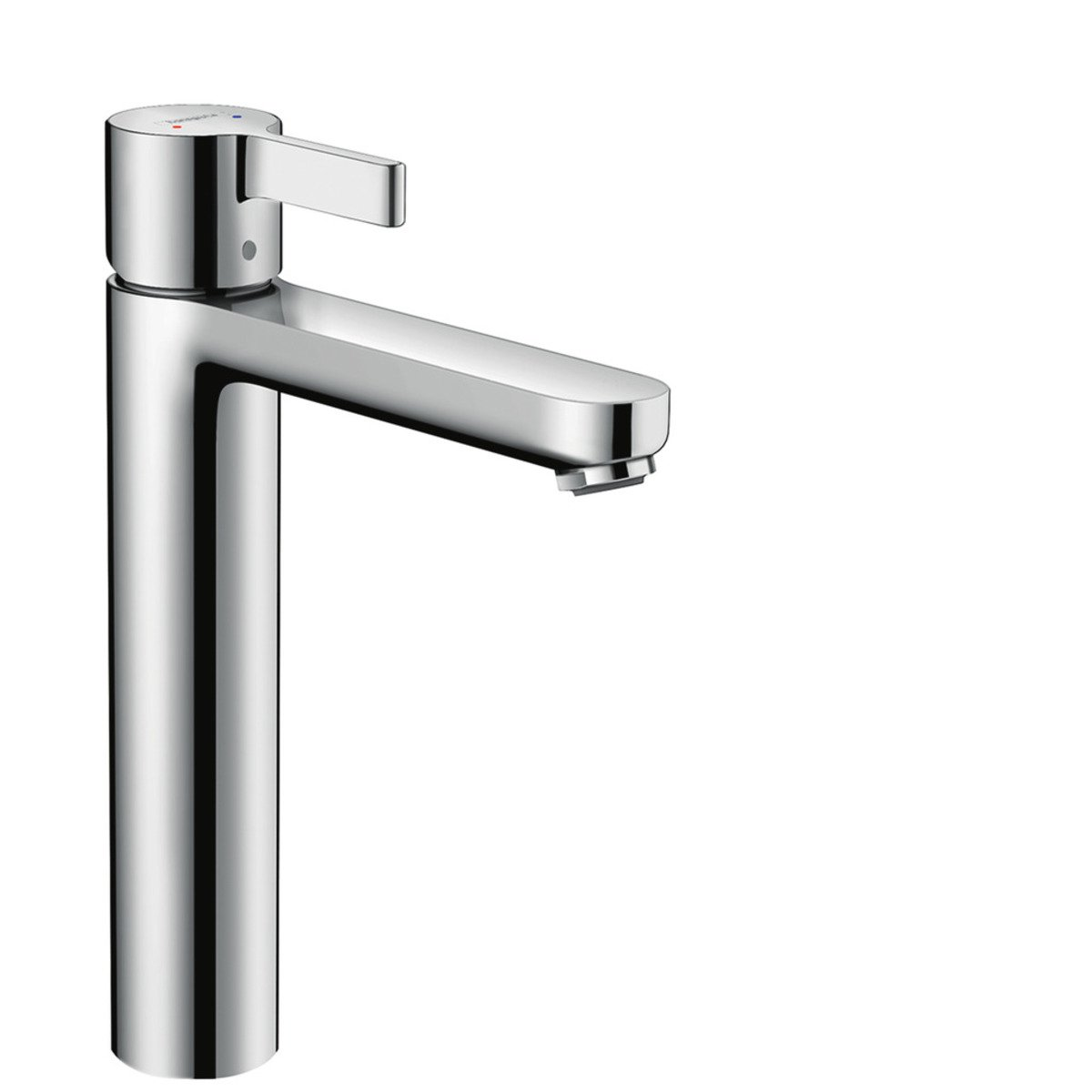 hansgrohe metris s robinet pour lavabo 1 trou highriser chrome 31026000. Black Bedroom Furniture Sets. Home Design Ideas