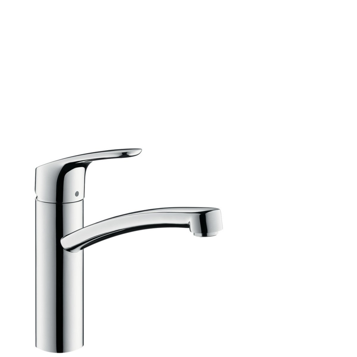 hansgrohe focus e2 robinet de cuisine avec bec tournant chrome 31806000. Black Bedroom Furniture Sets. Home Design Ideas