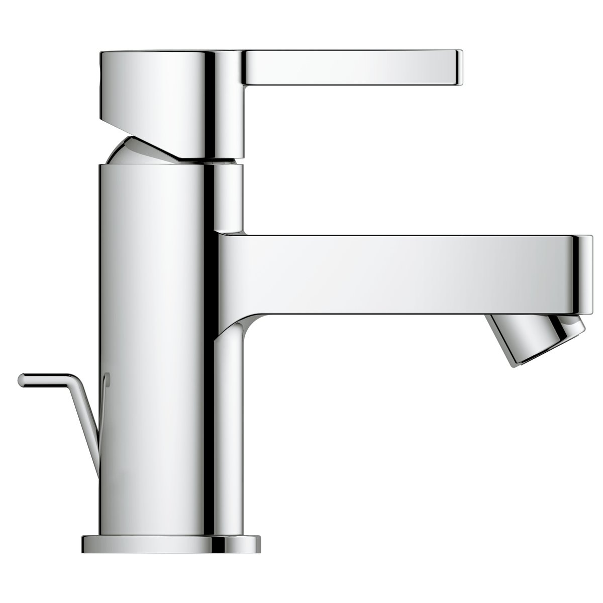 grohe lineare m langeur de lavabo 28mm avec tirette chrome. Black Bedroom Furniture Sets. Home Design Ideas