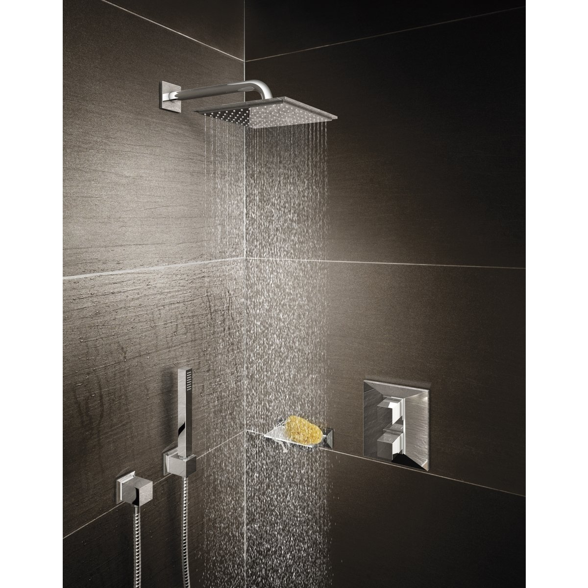 ciel de douche grohe gallery of lenceinte aquatunes rsulte de de philips et grohe grce with. Black Bedroom Furniture Sets. Home Design Ideas