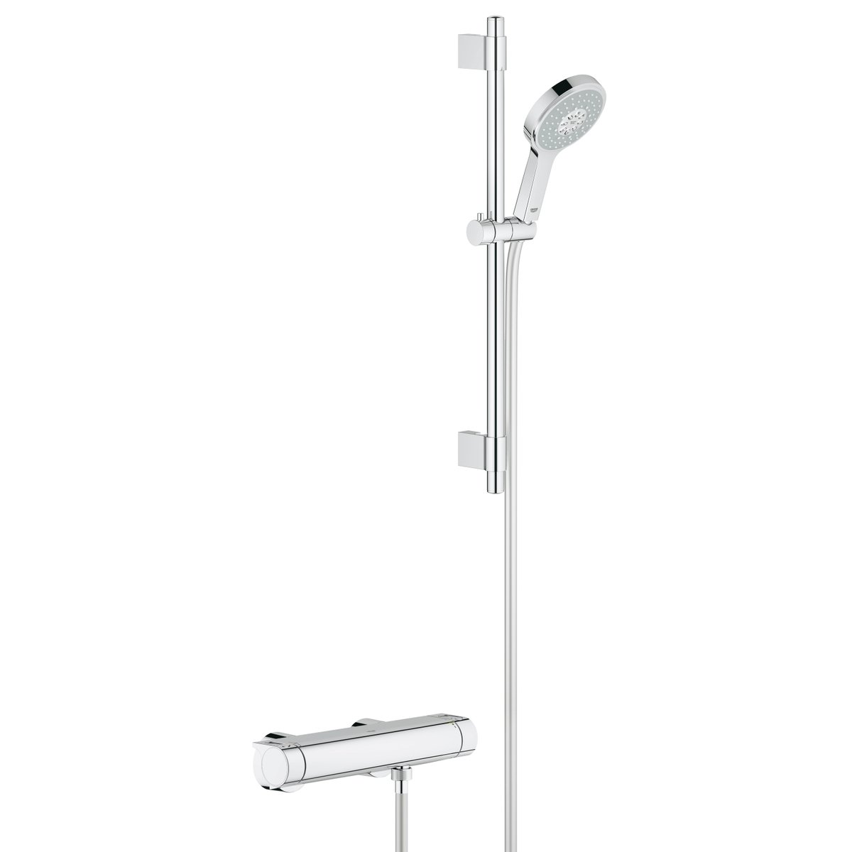 Grohe grohtherm 2000 douchekraan thermostatisch met for Grohe cosmopolitan 1000 thermostat