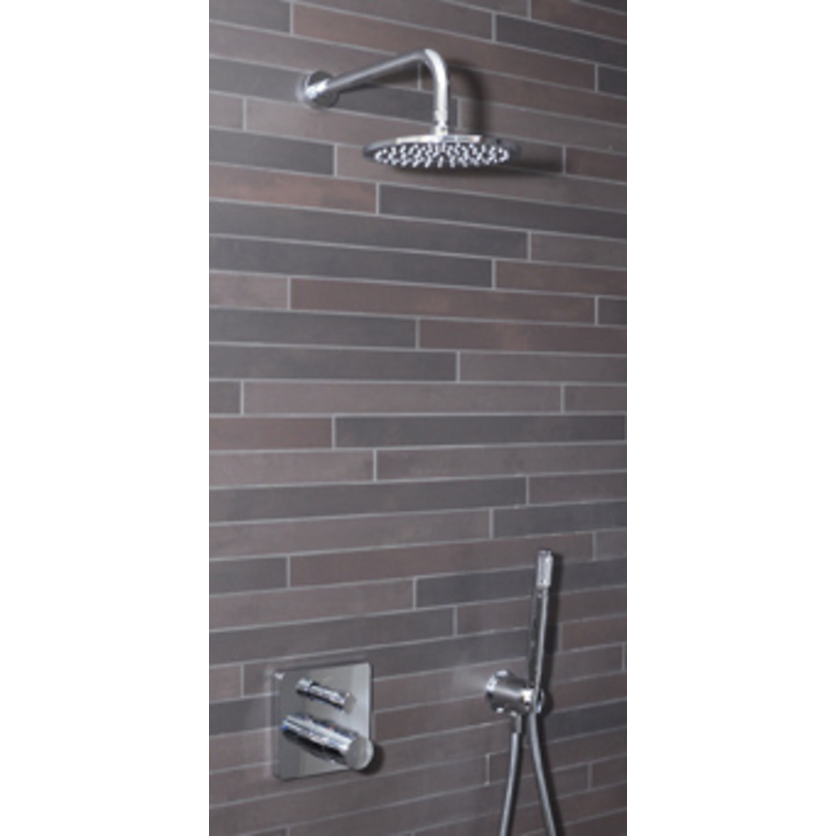 ideal standard showerpack ceratherm 200 inbouwkraan thermostatisch met afbouwdeel met. Black Bedroom Furniture Sets. Home Design Ideas