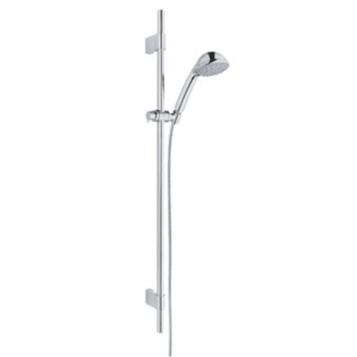 grohe relexa2 ensemble de douche 90cm avec douchette five chrome 28941001. Black Bedroom Furniture Sets. Home Design Ideas