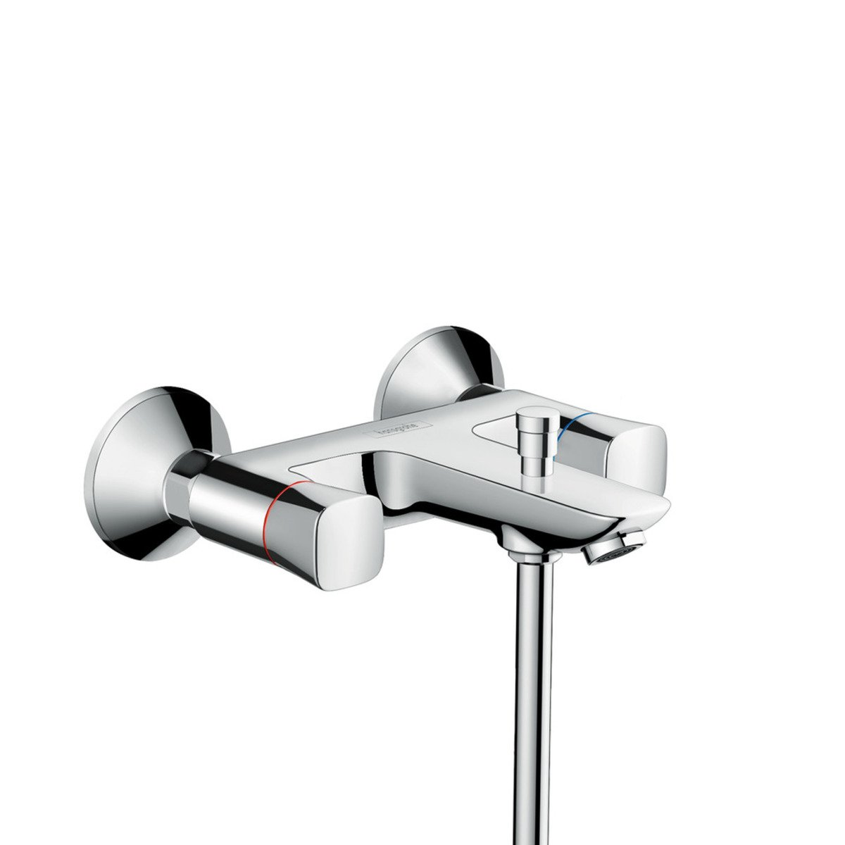 hansgrohe logis mitigeur bain encastrable avec inverseur chrome 71243000. Black Bedroom Furniture Sets. Home Design Ideas