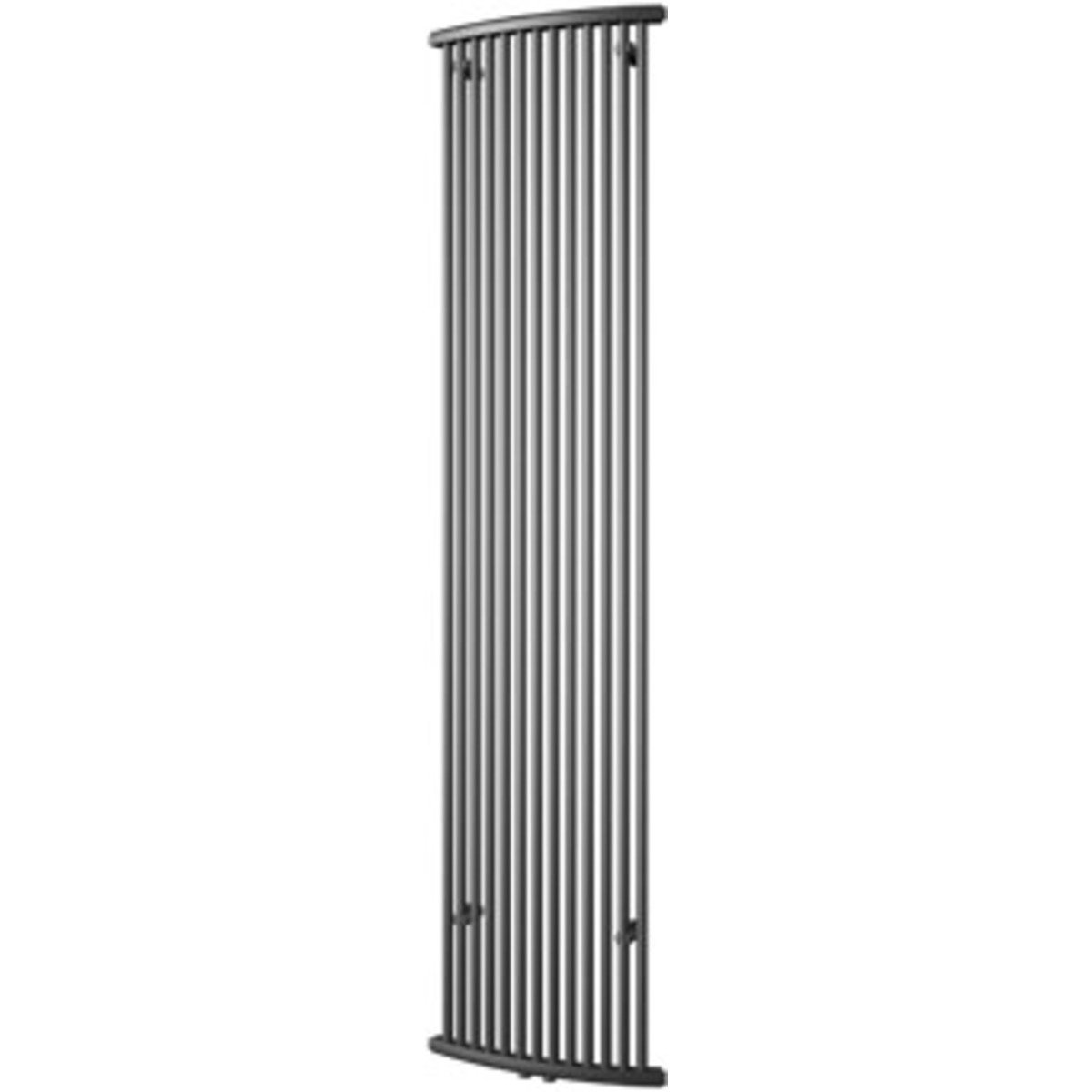 plieger napoli radiateur design vertical 200x48cm 885w gris perle 7252350. Black Bedroom Furniture Sets. Home Design Ideas