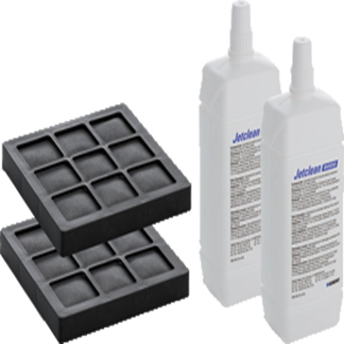 geberit aquaclean set van 2 koolfilters en 2 douchearm reinigingsmiddelen v 8000 8000 plus. Black Bedroom Furniture Sets. Home Design Ideas