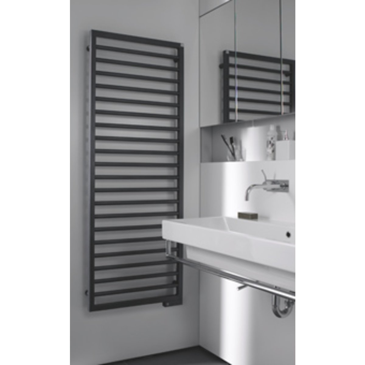 zehnder subway designradiator electrisch verticaal 1639x600mm 750w wit 7611254