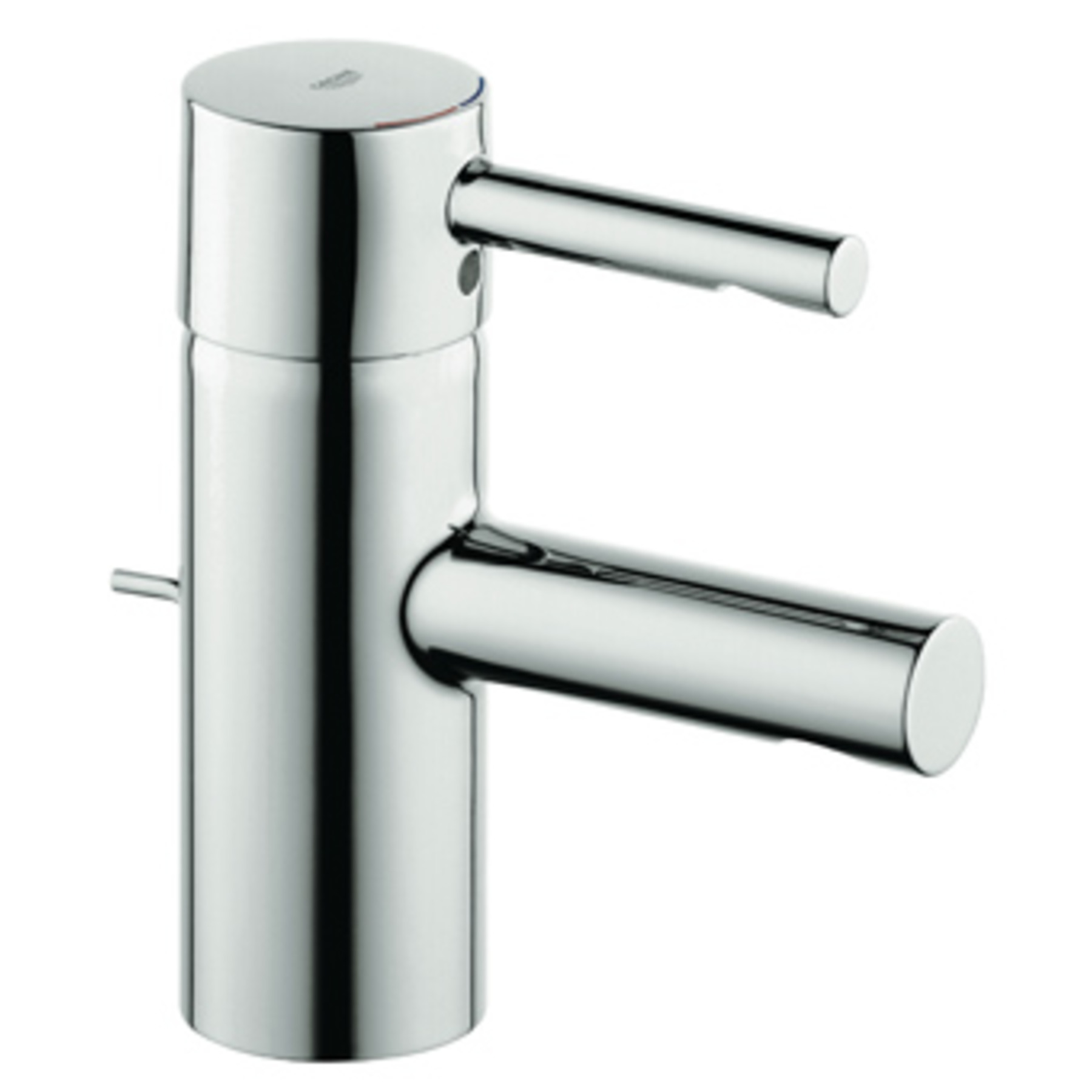 Grohe Essence wastafelkraan met waste chroom
