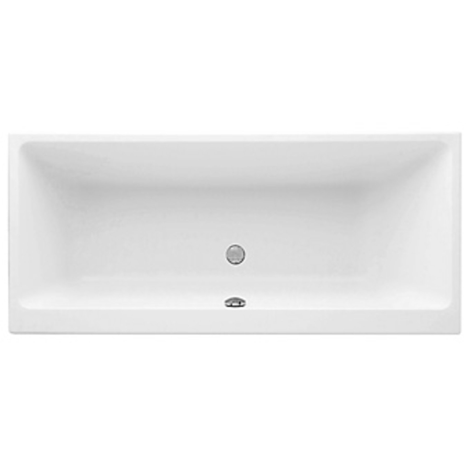 Villeroy en Boch Subway bad 180x80cm acryl wit