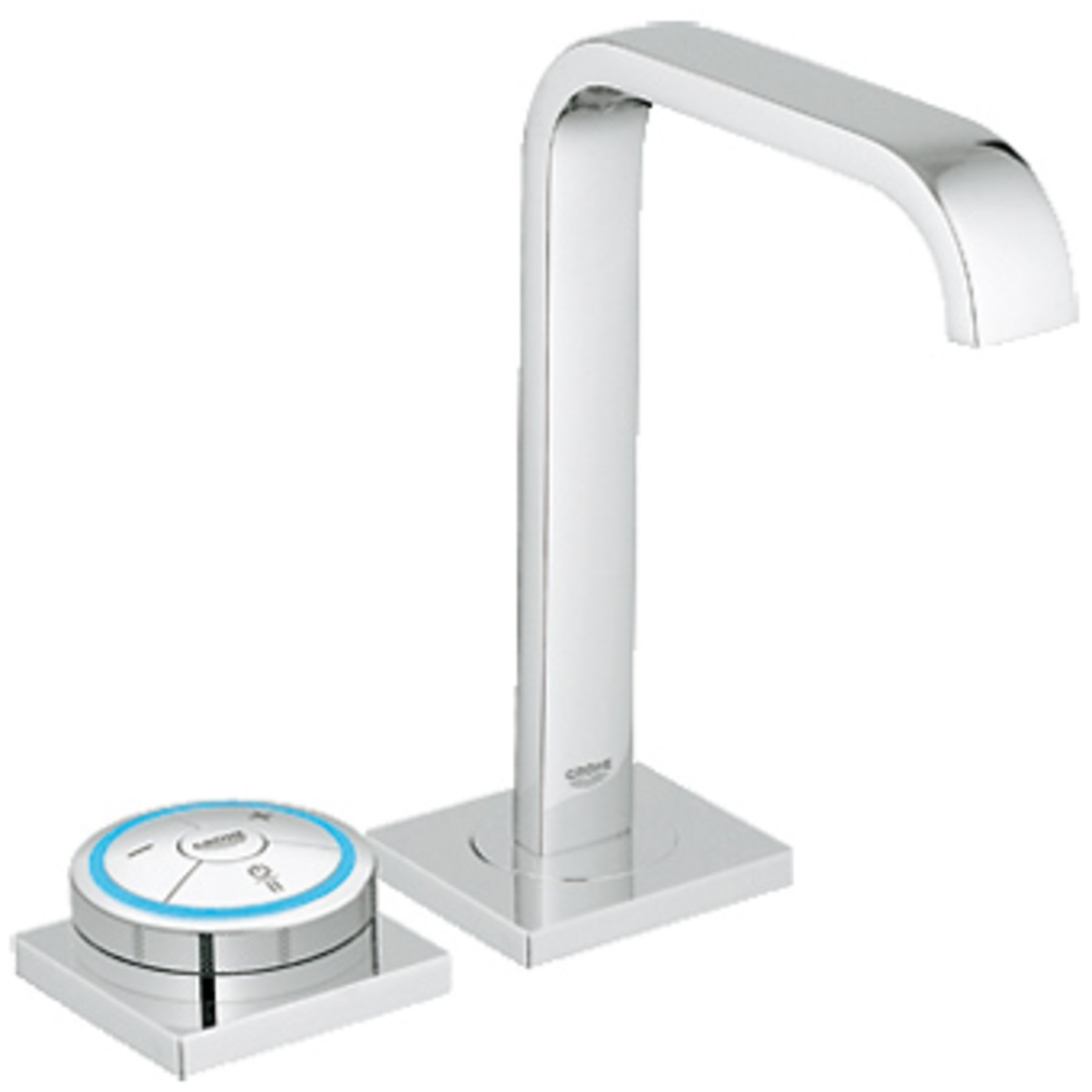 Grohe Allure F Digital Allure digitale wastafelkraan met waste incl. digitale menginrichting chroom